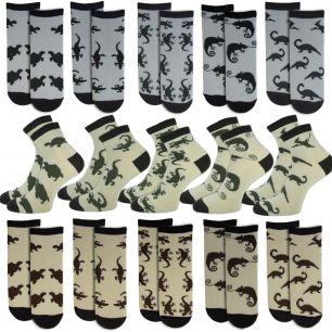 Женские носки с 22 рептилии